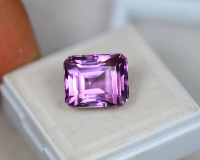 7.98ct Purple Amethyst Square Cut Lot V4054