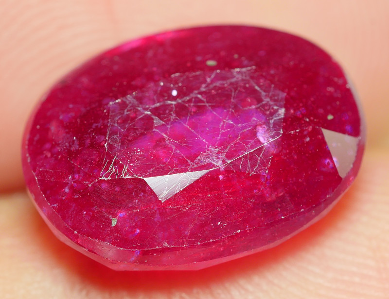 7.50 CRT BEAUTY RED BLOOD MADAGASCAR RUBY-