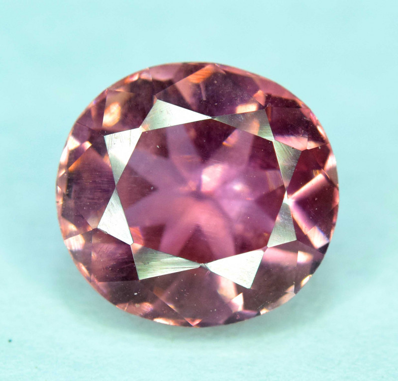 3.15 Carats Pink Color Tourmaline Gemstone From Afghanistan
