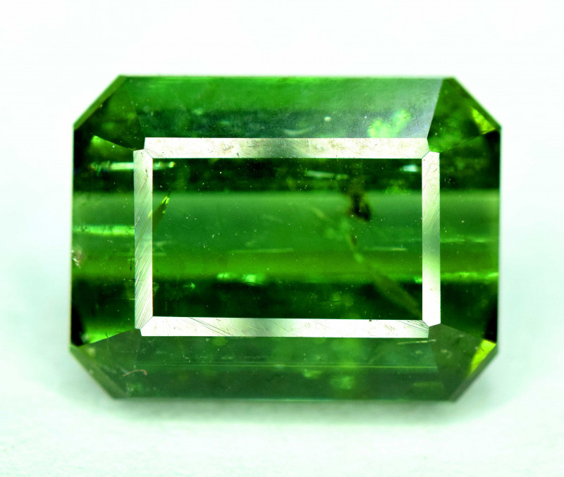 5.80 Carats  Bluish Green Color Tourmaline Gemstone From AFG
