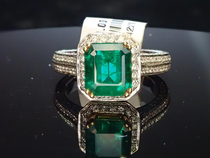 2.19ct Emerald Ring