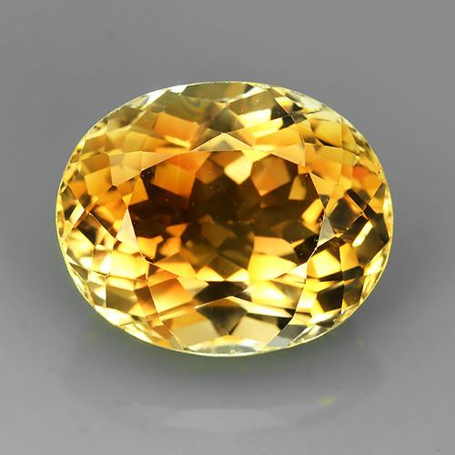 13.95 cts Natural Champion Topaz oval Cut Brazilian Ravishing Loose Gems