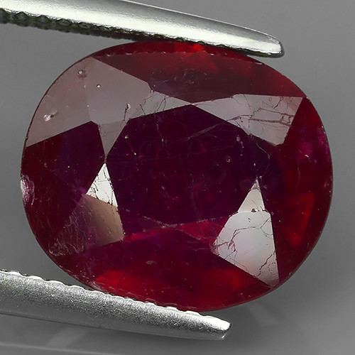 6.25 CTS. NICE NATURAL RUBY TOP LUSTER BLOOD COLOUR
