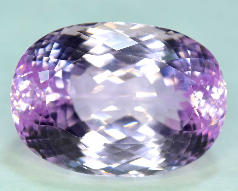 68.95 Carats Pink Color Kunzite Gemstone
