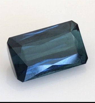 Pretty Blue 7.10ct Emerald cut Indicolite Tourmaline -G547