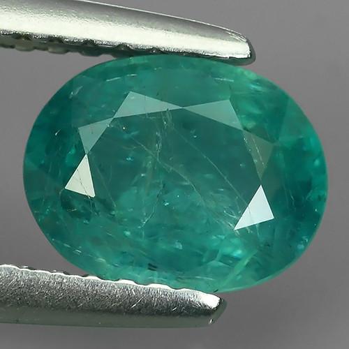 1.20 Cts World's Rarest Gem Oval Natural Green Grandidierite Wonderful!