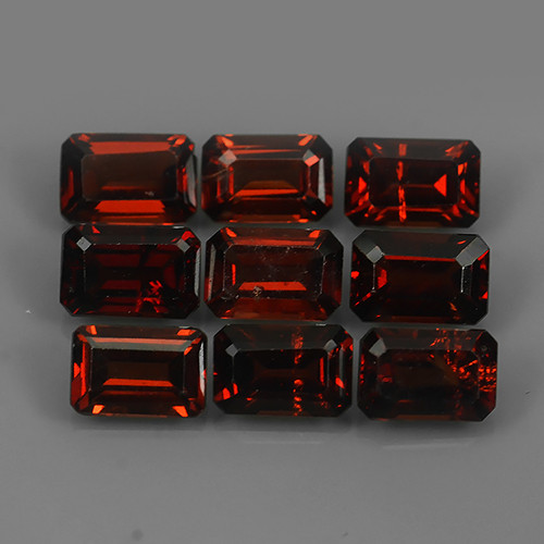 7.10 CTS~EXQUISITE NATURAL UNHEATED RED COLOR SPESSARTITE GARNET!!