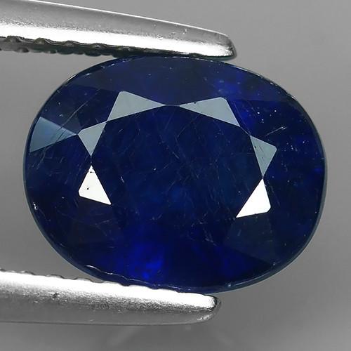 6.35 CTS EXCELLENT NATURAL KYANITE KASMIR DARK BLUE NR!!