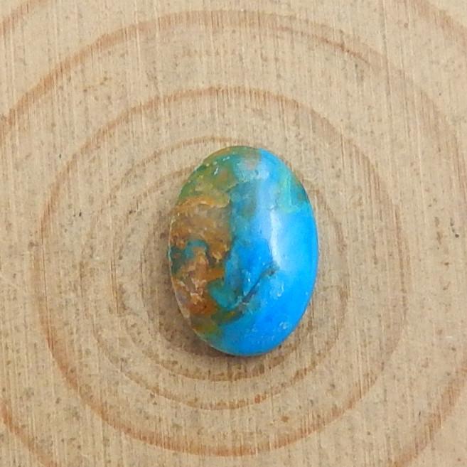 5.5cts Blue Opal Cabochon, October Birthstone, Blue Opal Bead C516