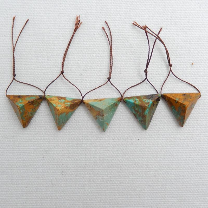 Natural Turquoise Strand ,Handmade Gemstone ,Turquoise  Stone C532