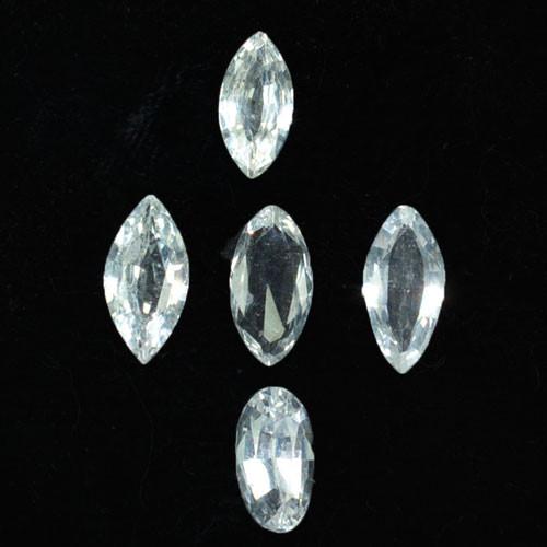 2.15 Cts Natural White Sapphire Marquise Parcel Sri Lanka