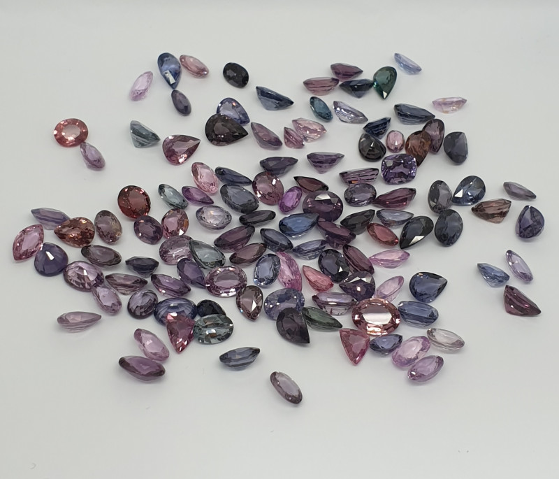 Beautiful Mix Colors  Spinel Parcel 98.85ct(SKU 68)