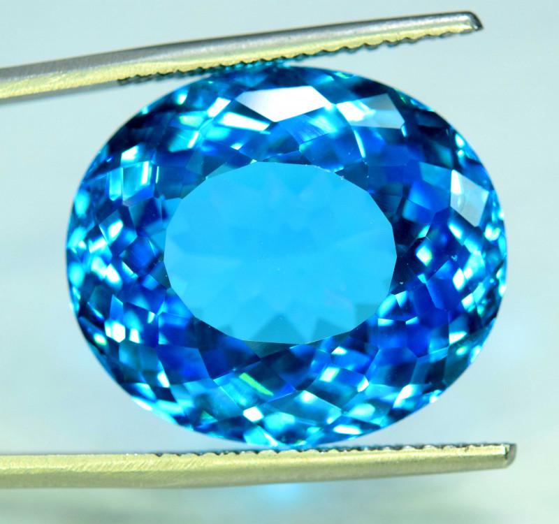 47.90 cts Electric Blue Topaz Gemstone