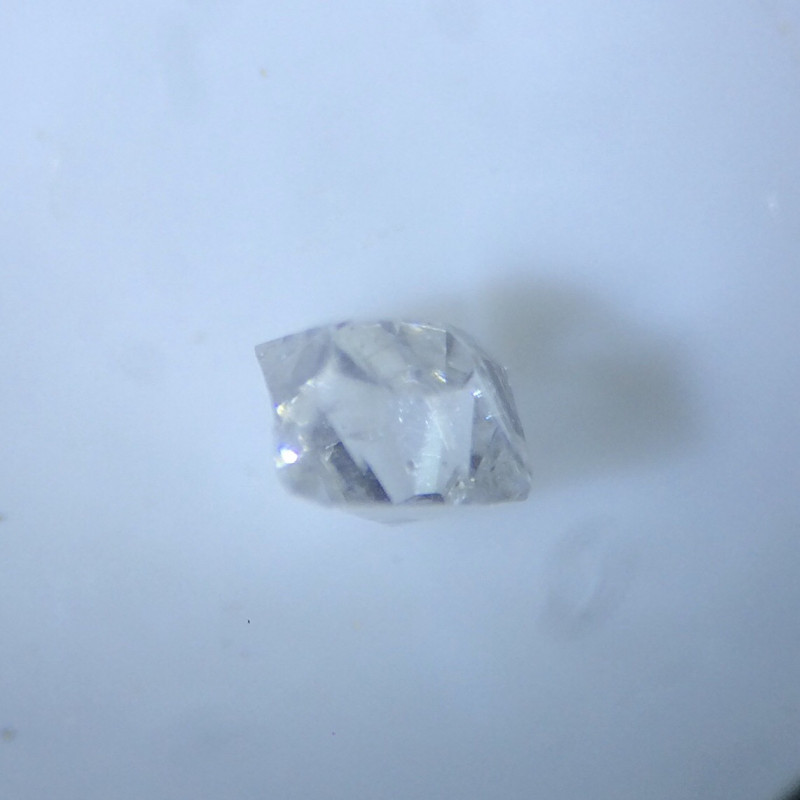 0.01 ct grey I2 old vintage cut diamond
