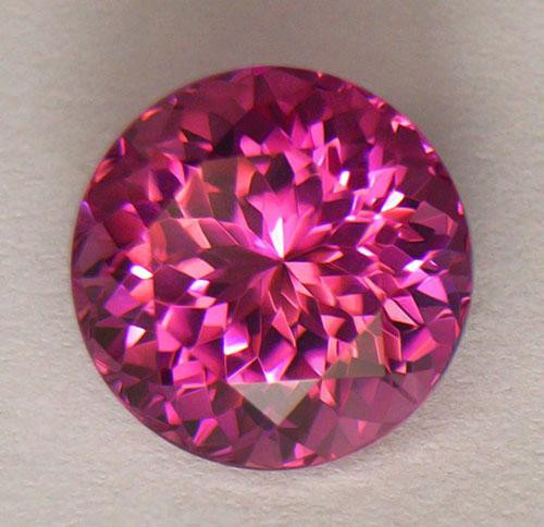 5.51 Carat CERT. IF Tourmaline Rubellite Master Cut Flawless Quality Rare !