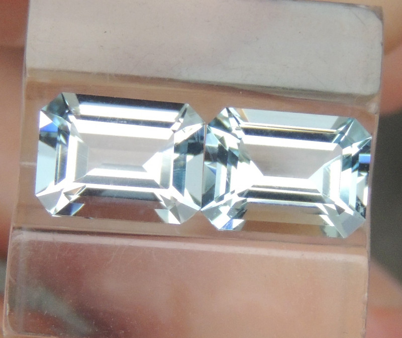 8x6mm  Aquamarine Octagon