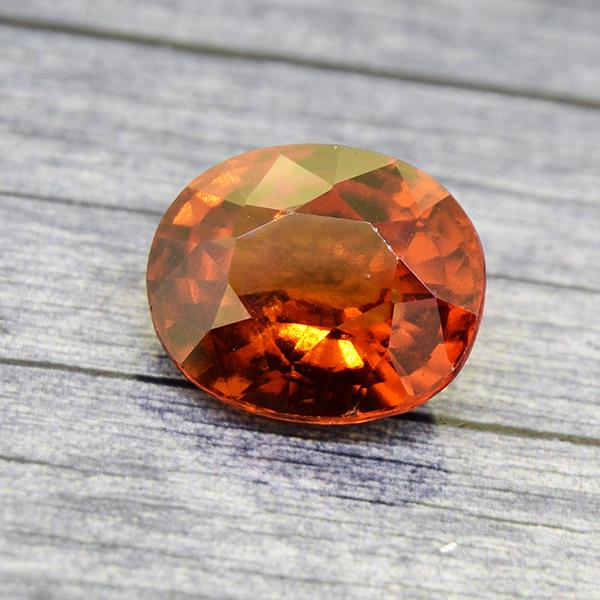 Hessonite Garnet 5.22 Ct. Natural Untreated (00652)