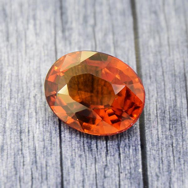 Hessonite Garnet 5.06 Ct. Natural Untreated (00649)