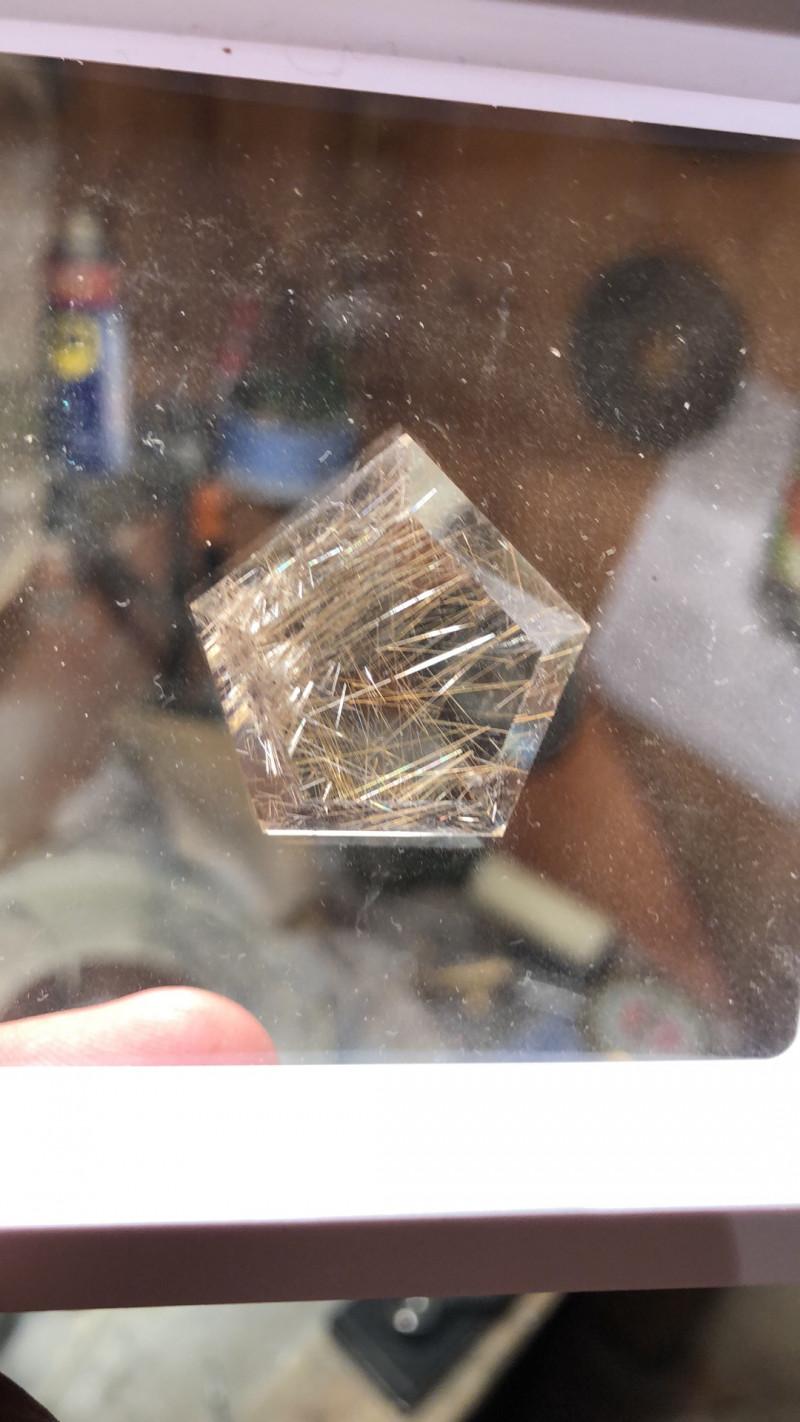 quartz with rutile Gemural