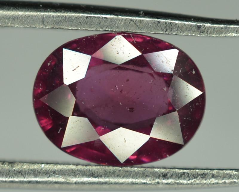 1.70  Cts Rare Natural  Purple Garnet / Grape Garnet From Mozambique