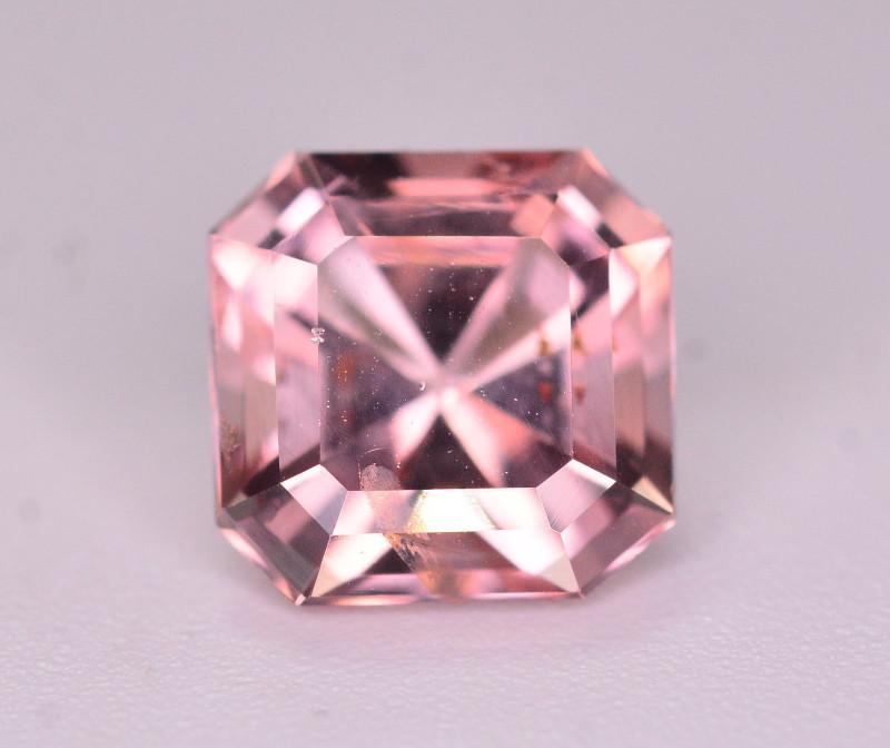 Brilliant Color  1.70 Ct Natural Pink Tourmaline. AT1