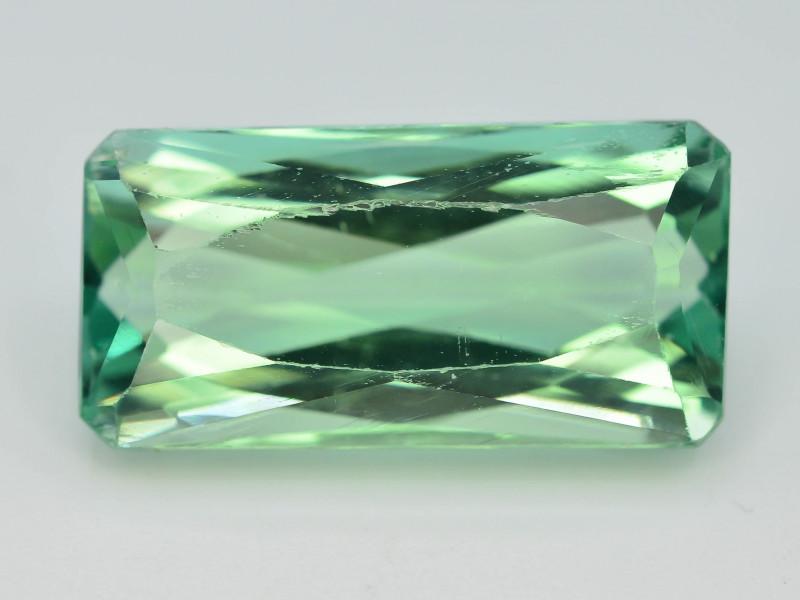 18.90 Ct Green Spodumene Gemstone From Afghanistan~ AA