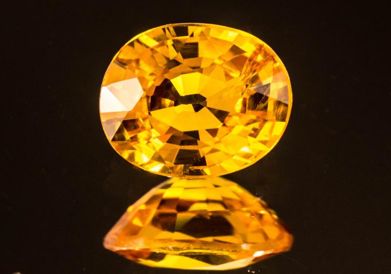 Sapphire 6 x 4 mm 1.00 ct  Sri Lanka