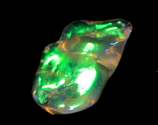 2.5 Crt Natural Ethiopian FreeForm Welo Fire Opal Carvin 639