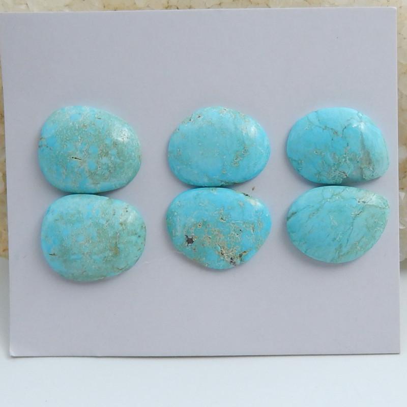 Natural Turquoise ,Handmade Gemstone ,Turquoise Cabochons ,Lucky Stone C592