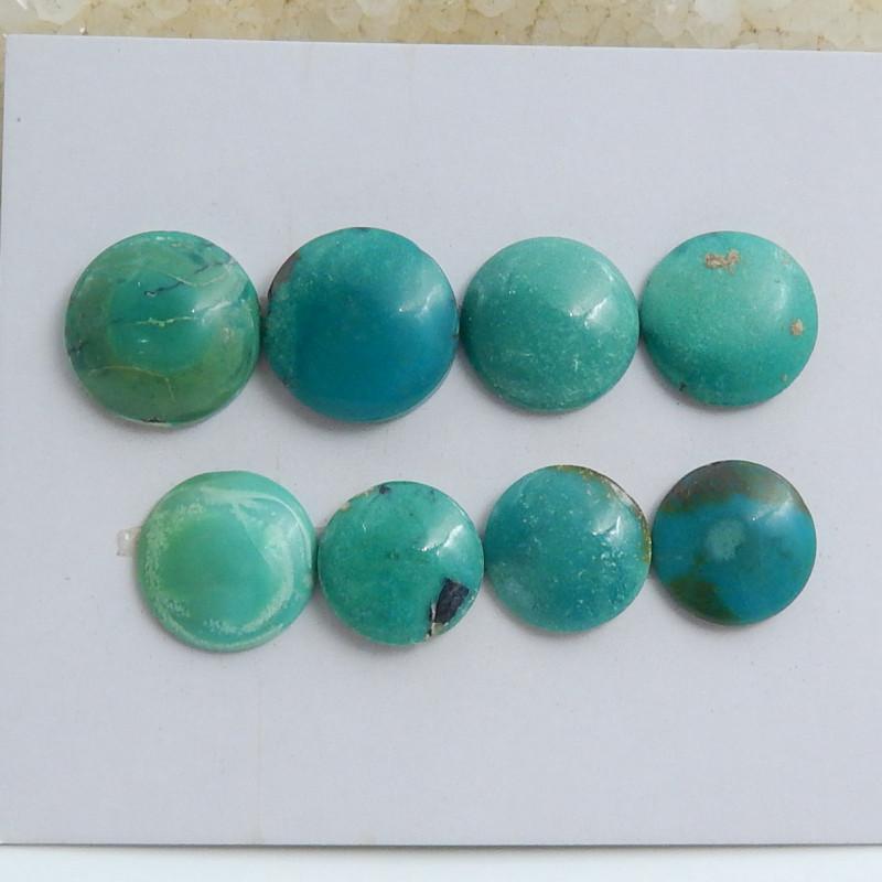 Round Turquoise ,Handmade Gemstone ,Turquoise Cabochons ,Lucky Stone C593