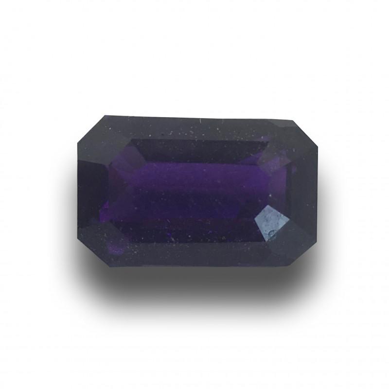 Natural Unheated Violet Sapphire|Loose Gemstone| Sri Lanka - New
