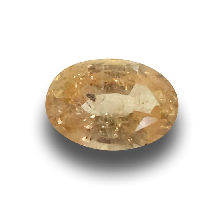 Natural Unheated Orange Sapphire|Loose Gemstone|New| Sri Lanka
