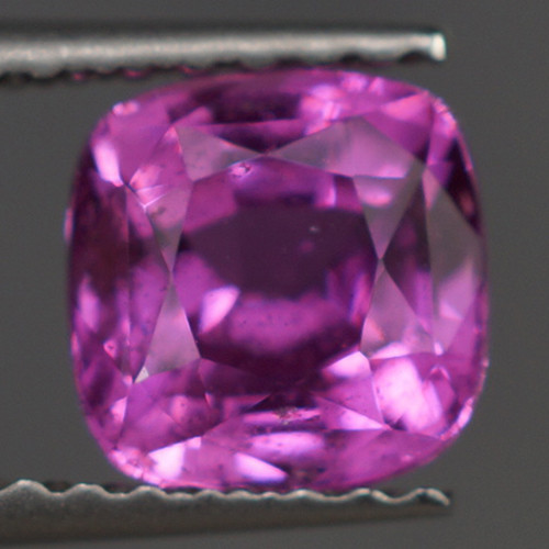 1.34 CT  Natural Unheated Untreated Cushion Shape Pink Sapphire