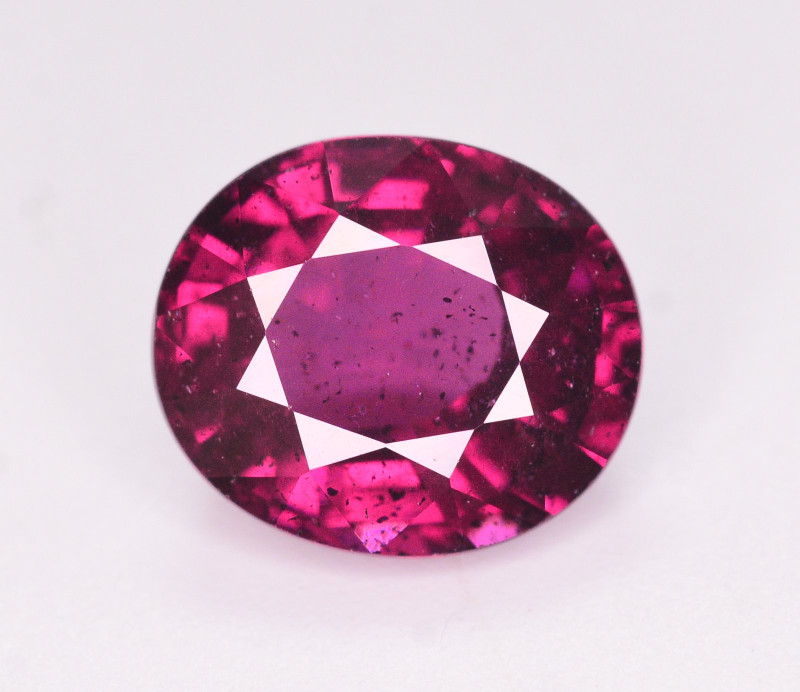Rare 3.05 Ct Natural Grape Garnet From Mozambique