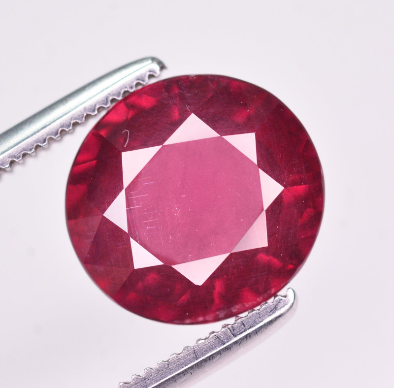 Rare 3.30 Ct Natural Grape Garnet From Mozambique