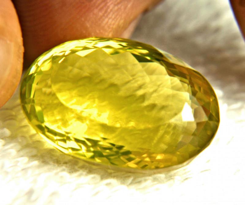35.88 Carat Vibrant African Lemon Quartz - Gorgeous