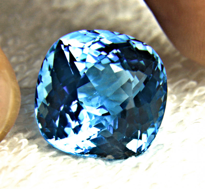 35.12 Carat Blue Brazilian Topaz - Gorgeous
