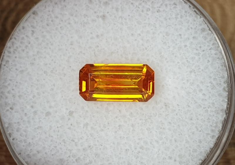 1,16ct Sphalerite - high dispersion gemstone!