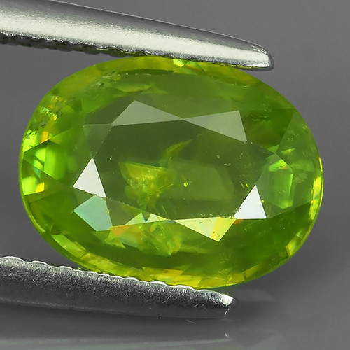 2.05 Cts EXTRME LUSTER RARE NATURAL MULTI GREENISH-YELLOW SPHENE GEM!!
