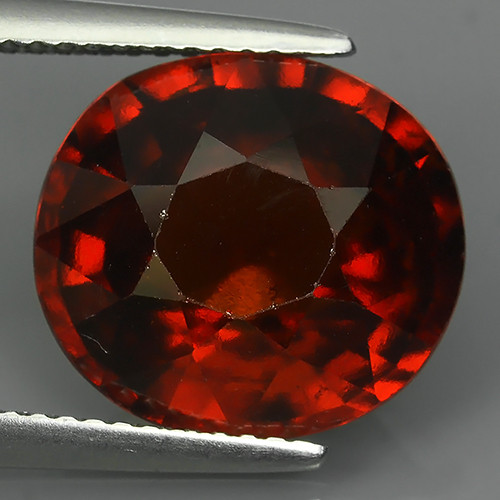 9.20 Cts Awesome 100% UNHEATED Natural Srilankan Hessonite Garnet!!