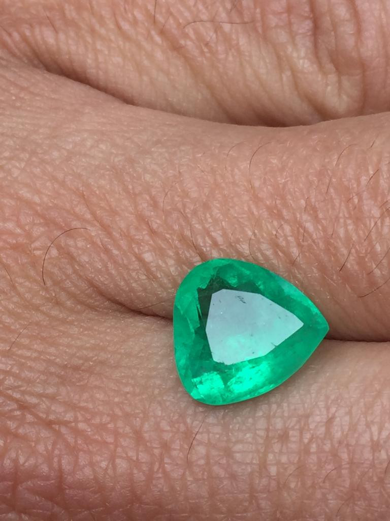Muzo's Heart Colombian Emerald Ref 15/32
