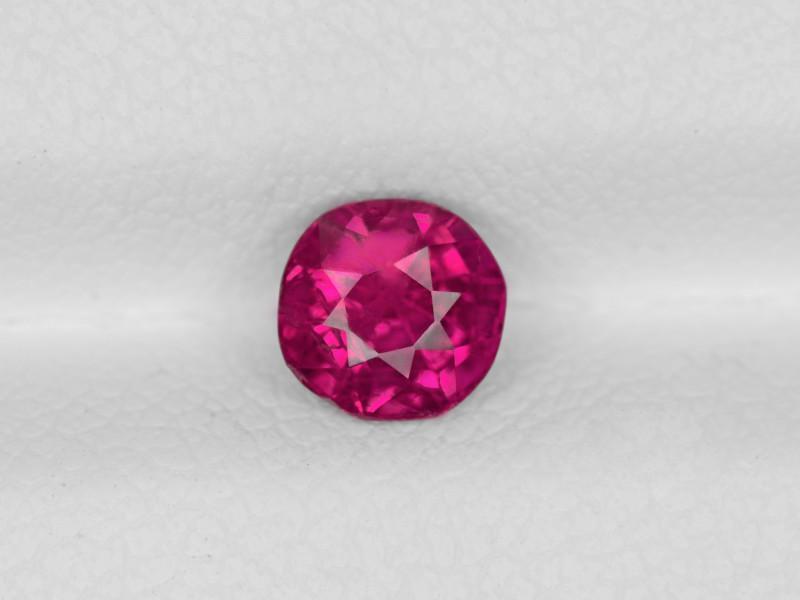 Ruby, 0.88ct - Mined in Burma   Certified by IGI