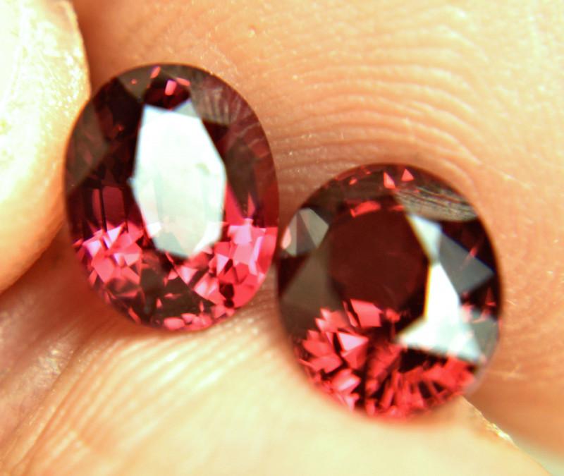 5.63 Tcw. Fiery Malawi Garnets - Gorgeous