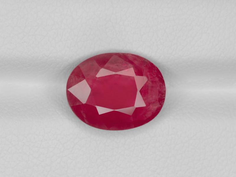 Ruby, 4.37ct - Mined in Burma | Certified by GRS