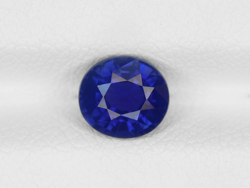 Blue Sapphire, 1.34ct - Mined in Madagascar | Certified by GIA & IGI