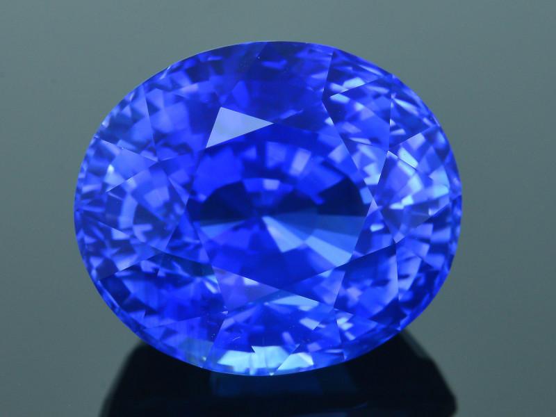 AAA Grade & Color 26 ct  Royal Blue Sapphire~Sri Lanka