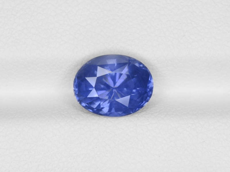 Blue Sapphire, 3.10ct - Mined in Sri Lanka | Certified by GRS