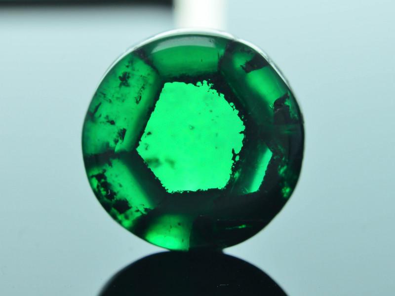 AIG Certified AAA Grade 4.54 ct Colombian Trapiche Emerald SKU-31