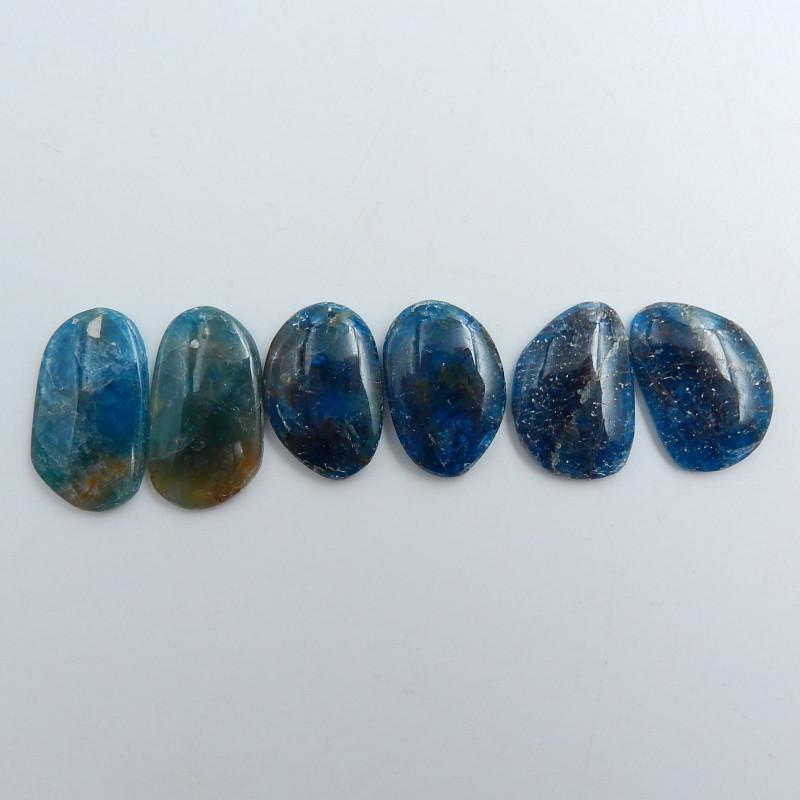 Raw Blue Faceted Kyanite Cabochons,kyanite,Healing Crystals,Blue Kyanite C7