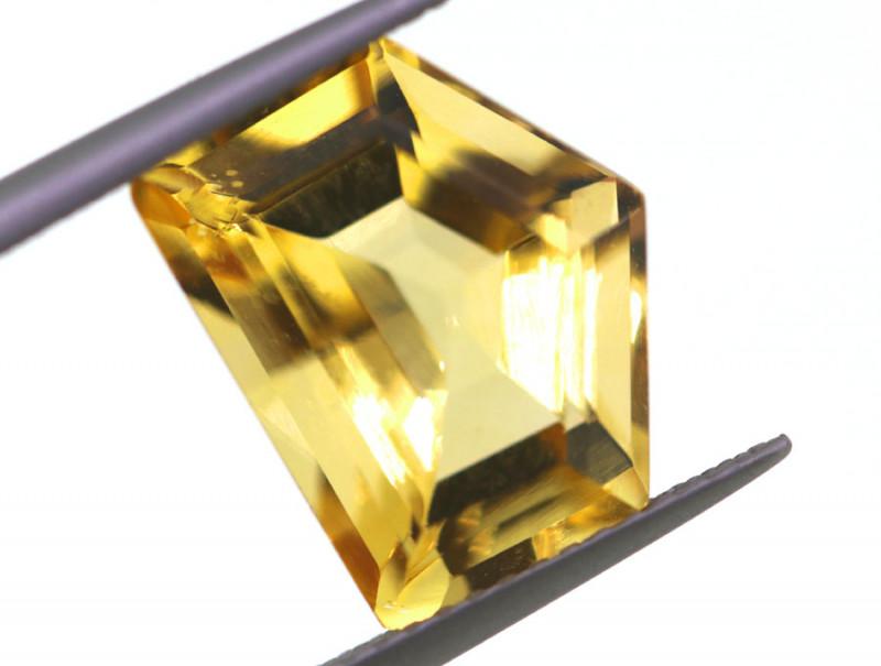 6CTS-GOLDEN YELLOW CITRINE FANCY CUT-GB24